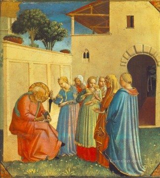The Naming Of St John The Baptist Renaissance Fra Angelico Oil Paintings