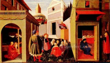 Story Of St Nicholas 1 Renaissance Fra Angelico Oil Paintings