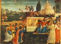 Saint Cosmas And Saint Damian Condamned Renaissance Fra Angelico