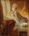 The Love Letter Rococo hedonism eroticism Jean Honore Fragonard