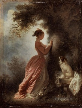 Doni Art - The Souvenir hedonism Jean Honore Fragonard