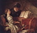 Music Lesson Rococo hedonism eroticism Jean Honore Fragonard