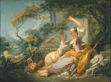 Doni Art - shepherdess 1752 hedonism Jean Honore Fragonard