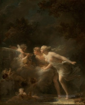 Doni Art - The Fountain of Love hedonism Jean Honore Fragonard