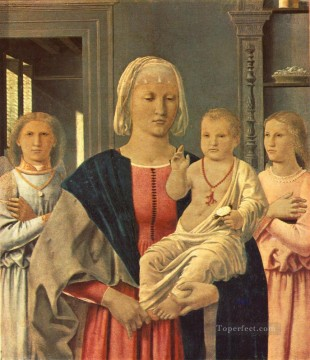 Madonna Of Senigallia Italian Renaissance humanism Piero della Francesca Oil Paintings