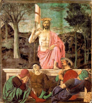 Resurrection Italian Renaissance humanism Piero della Francesca Oil Paintings