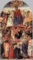 The Coronation Of The Virgin Sienese Francesco di Giorgio
