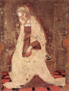 Francesco Canvas - Madonna Annunciate Sienese Francesco di Giorgio