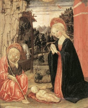 Francesco Canvas - Nativity Sienese Francesco di Giorgio