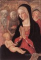 Madonna And Child With Saints And Angels Sienese Francesco di Giorgio