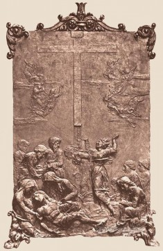 Francesco Canvas - Deposition From The Cross Sienese Francesco di Giorgio