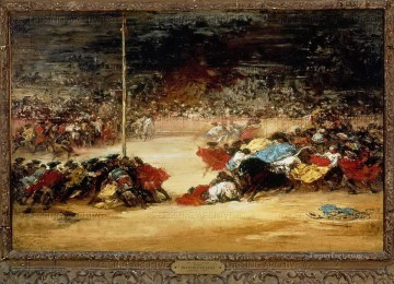 Bullfight Francisco de Goya Oil Paintings