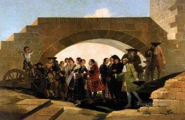 romantic romantism Painting - The Wedding Romantic modern Francisco Goya