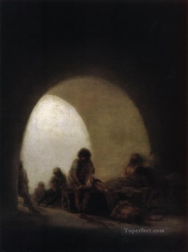 A Prison Scene Francisco de Goya Oil Paintings