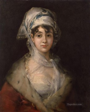 Actress Antonia Zarate Francisco de Goya Oil Paintings