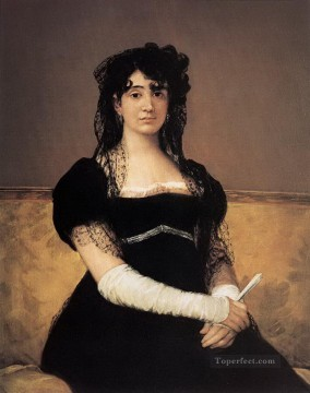 Antonia Zarate Francisco de Goya Oil Paintings