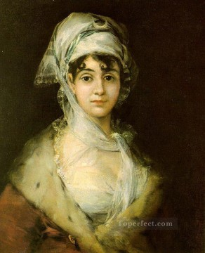 Francisco Goya Painting - Antonia Zarate portrait Francisco Goya