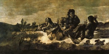 Atropos The Fates Francisco de Goya Oil Paintings