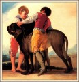 Boys With Mastiff Francisco de Goya