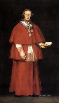 Cardinal Luis Maria de Borbon y Vallabriga Francisco de Goya Oil Paintings
