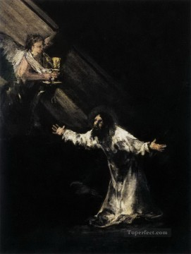 Goya Oil Painting - Christ on the Mount of Olives Francisco de Goya