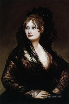 Dona Isabel de Porcel Francisco de Goya Oil Paintings