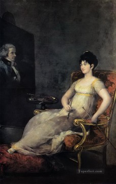 Dona Maria Tomasa Palafox Francisco de Goya Oil Paintings