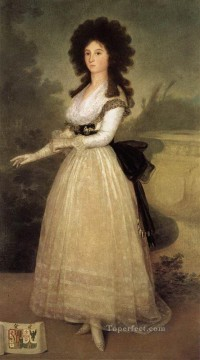 Dona Tadea Arias de Enriquez Francisco de Goya Oil Paintings