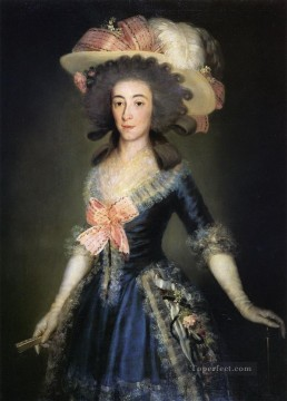 Goya Oil Painting - Duchess Countess of Benavente Francisco de Goya