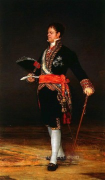 Duke of San Carlos Francisco de Goya Oil Paintings