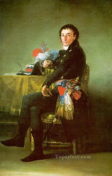 Francisco Goya Painting - Ferdinand Guillemardet portrait Francisco Goya