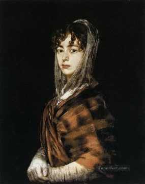 Francisco Goya Painting - Francisca Sabasa y Garcia Francisco de Goya