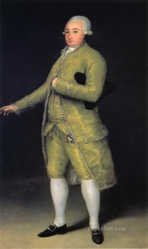 Francisco de Cabarrus Francisco de Goya Oil Paintings