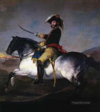 Francisco Goya Painting - General Jose de Palafox Francisco de Goya