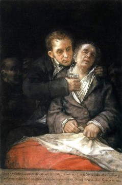 Francisco Goya Painting - Goya Attended by Doctor Arrieta Francisco de Goya