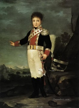 Infante Don Sebastian Gabriel de Borbon y Braganza Francisco de Goya Oil Paintings