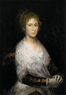 Francisco Goya Painting - Josefa Bayeu or Leocadia Weiss portrait Francisco Goya
