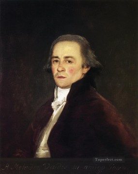 Juan Antonio Melendez Valdes Francisco de Goya Oil Paintings