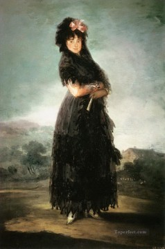 Mariana Waldstein Francisco de Goya Oil Paintings