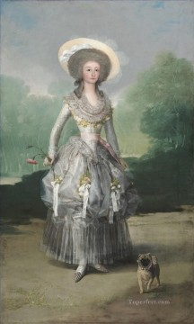 Marquesa Mariana de Pontejos Francisco de Goya Oil Paintings