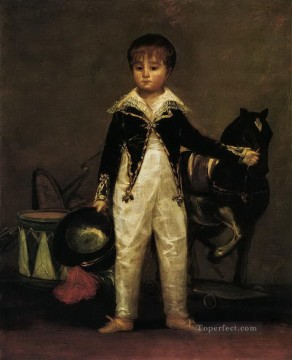 Goya Oil Painting - Pepito Costa and Bonells Francisco de Goya