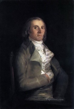 Portrait of Andres del Peral Romantic modern Francisco Goya Oil Paintings