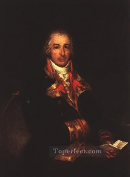 Portrait of Don Jose Queralto Romantic modern Francisco Goya Oil Paintings
