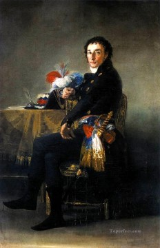 Goya Oil Painting - Portrait of Ferdinand Guillemardet Francisco de Goya
