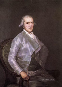 Francisco Goya Painting - Portrait of Francisco Bayeu Romantic modern Francisco Goya