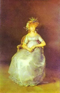 Maria Painting - Portrait of Maria Teresa of Ballabriga Francisco de Goya