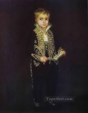 Francisco Goya Painting - Portrait of Victor Guye Francisco de Goya