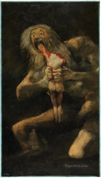 Francisco Goya Painting - Saturn Devouring His Son Francisco de Goya