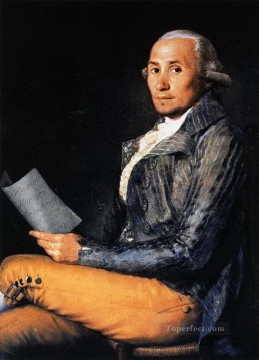Goya Oil Painting - Sebastian Martinez Francisco de Goya