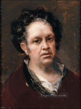 Goya Oil Painting - Self Portrait 1815 Francisco de Goya
